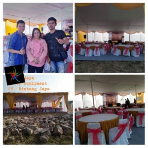 Sewa Tenda Tambun Bekasi - Event Peresmian Perumahan Green Babelan
