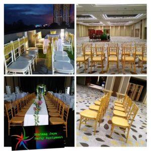 Sewa Kursi Tiffany Bekasi Murah - Kursi Tiffany Gold - Kursi Tiffany Putih