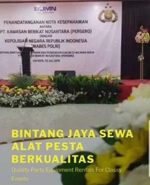 Pusat Sewa Alat Pesta Murah dan lengkap di Bekasi