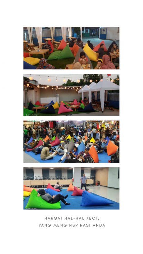 Pusat Penyewaan Bean Bag Alat Pesta Murah di Bekasi